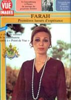 Point De Vue Images Du Monde  1981 N° 1698 FARAH Lueurs D Espérance  , Luxembourg Mariage Grand Duc - People