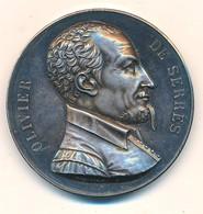 """J91 - Médaille Argent - """"Société Ardéchoise D'Encouragement à L'Agriculture"""" - Olivier De Serre - 39 Gr. - Professionals/Firms"""