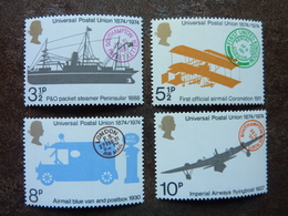 1974  Centenary Of Universal Postal Union   SG = 954 / 957  ** MNH - 1952-.... (Elizabeth II)
