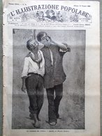 L'illustrazione Popolare 23 Maggio 1886 Leone San Marco Porro Bertani Sardegna - Ante 1900