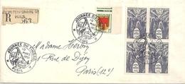 France Lettre Journée Du Timbre 1951 - Lettres & Documents