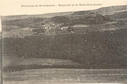 CPA - SOMBERNON (ENV.) - MESMONT ET LE MONT SAINT LAURENT - Francia
