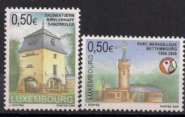 2006  Luxemburg Mi. 1702-3 **MNH Sehenswürdigkeiten - Luxemburg
