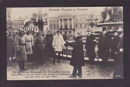 CPA Finlande Finland Allemagne Germany Deutsche Truppen Non Circulé - Finnland