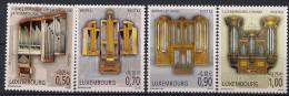 2006  Luxemburg Mi. 1724-7**MNH  Orgeln - Luxemburg