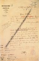 DOCUMENT FAC SIMILE : La Bataille De La Marne (1914), Joffre, Galliéni - Manuscripts
