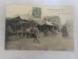 CPA MAROC - OUDJDA - Marché Aux Légumes - Autres