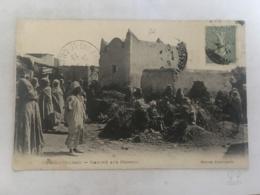 CPA MAROC - OUDJDA - 3 - Marché Aux Herbes - Autres