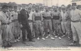 EVENEMENT MILITARIA - 35 RENNES (31/05/1914) FETE FEDERALE GYMNASTIQUE Délégation Tirailleurs Sénégalais COLOMB BECHAR - Militaria