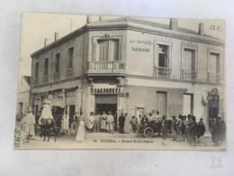 CPA MAROC - OUDJDA - 14 -  Grand Hotel Simon ( Rare) - Autres