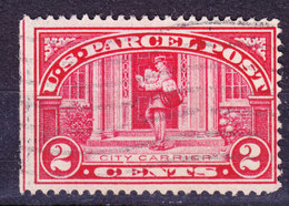 United States Paketmarke 1912 Mi. 2a   2c. Stadtbriefträger - Parcel Post & Special Handling