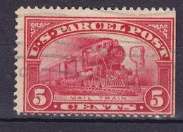 United States Paketmarke 1912 Mi. 5   5c. Postzug Train Locomotive Lokomotive Chemin - Parcel Post & Special Handling