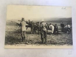 CPA MAROC - OUDJDA - 36 - L'aviation Au Camp D'Oudjda - Le Maroc Pittoresque ( Rare) - Autres