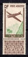 Réunion Maury Poste Aérienne YT N° 5 Superbe Variété Sans Valeur Faciale Neuf ** MNH. TB. A Saisir! - Réunion (1852-1975)