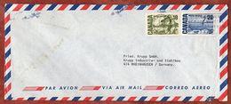 Luftpost, Faehre Bei Quebec, Montreal Nach Rheinhausen 1972 (93103) - 1952-.... Règne D'Elizabeth II