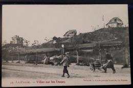 La Panne Villa Sur Les Dunes Avec Personnages - De Panne