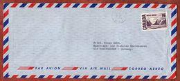 Luftpost, Bylot Island, Montreal Nach Rheinhausen 1969 (93104) - Lettres & Documents