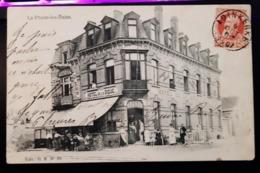 La Panne-les-Bains Hôtel De La Digue Avec Personnages - De Panne