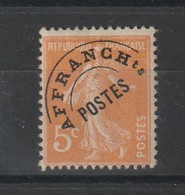 France Timbre Préoblitéré N°50 Neuf** - 1893-1947