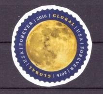 Etats Unis USA 2016 - Oblitéré - Lune - Michel Nr. 5232 Série Complète (usa197) - Usati