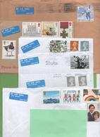 9 Recent Letters For France - 1952-.... (Elisabeth II.)