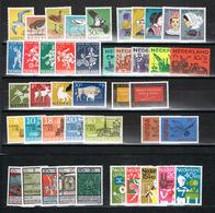 Lot Niederlande ältere Zuschlagssätze Postfrisch - Sammlungen