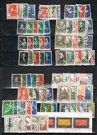 Lot Niederlande ältere Zuschlagssätze Gestempelt - Sammlungen