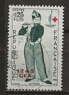 REUNION CFA: Obl., N° YT 358, TB - Réunion (1852-1975)