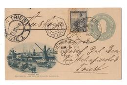 Cartolina-Postcard,  Viaggiata (sent) - Argentina, Buenos Aires, Darsena Sud - Argentina
