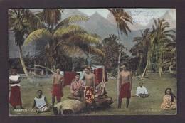 CPA Tahiti Haapiti Mooréa Circulé - Tahiti