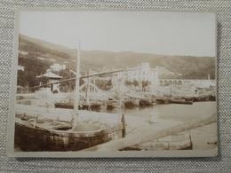 Foto Albumina Cartonata , Primi '900 Porticciolo Istria - Places
