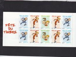 1 Carnet**Fête Du Timbre 2006. Ref Yvert Et Tellier BC 3877a. SPIROU Voir Scan Recto Verso - Dag Van De Postzegel