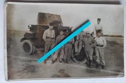 1920 1930  Levant Maroc Automitrailleuse White Trouoes Coloniales Spahis Affut Anti-aérien Syrie Liban Druzzes Cart Pho - War, Military