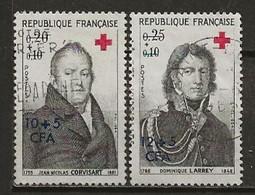 REUNION CFA: Obl., N° YT 362 Et 363, TB - Réunion (1852-1975)