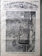 L'illustrazione Popolare 19 Settembre 1886 Chioggia Manzoni Costumi Napoletani - Ante 1900