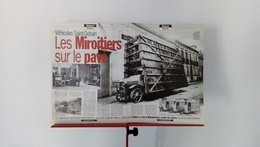 Ancienne Coupure De Presse Automobile Véhicules Saint-Gobain-Les Miroitiers Sur Le Pavé - Unclassified