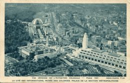 CPA - PARIS - EXPO COLONIALE 1931 - CITE DES INFORMATIONS, PALAIS DE LA SECTION METROPOLITAINE - Expositions