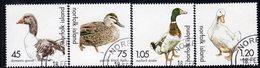 Norfolk Island 2000 Ducks & Geese Set Of 4, Used, SG 725/8 (BP2) - Norfolk Island