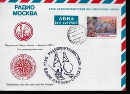 URSS Carte 1982 Exploitation De Gaz D Ourengoi - Gaz