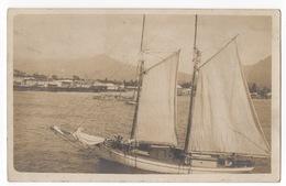 Cartolina-Postcard,  Viaggiata (sent) - Honduras, Imbarcazione A Vela - Honduras