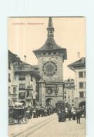 BERNE Ou BERN - Der Zeitglockenturm - La Tour De L' Horloge - Superbe Plan Animé - Tramway - TBE - 2 Scans - BE Berne