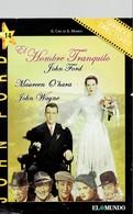CINEMA DVD - USA 1952 - HOMBRE TRANQUILO - QUITE MAN - MAUREEN O'HARA - JOHN WAYNE - DIR JOHN FORD CINECOM - -SP-ANTE AN - Western/ Cowboy