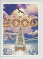 1999 Envolons Nous Vers L'An 2000 - De Toutes Les Secondes De Cette ère... (cp Vierge) - New Year