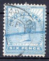 VICTORIA - (Colonie Britannique) - 1867-78 - N° 59 - 6 P. Bleu - (Victoria) - Mint Stamps