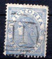 VICTORIA - (Colonie Britannique) - 1867-78 - N° 59a - 6 P. Outremer - (Victoria) - Oblitérés