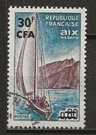 REUNION CFA: Obl., N° YT 372, TB - Reunion Island (1852-1975)