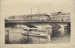 CPA LIEGE Pont Neuf (circulée 1948) - Luik
