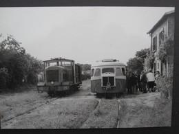Chemin De Fer Départementaux De La Seine Et Marne: En Gare De VOULX - Autres Communes