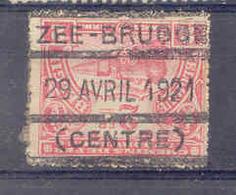 F789 Spoorweg  Stempel  ZEE BRUGGE - Bahnwesen