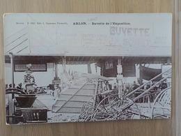 1900 CP Animée Photo Arlon Buvette De L' Exposition Pub Chocolat De La Couronne Machines Agricoles N° 3202 - Arlon